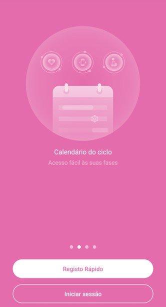 Femometer app instruções